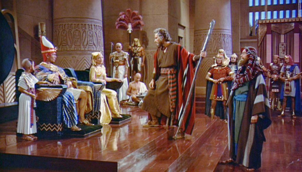 Moses and Pharaoh_Ten Commandments