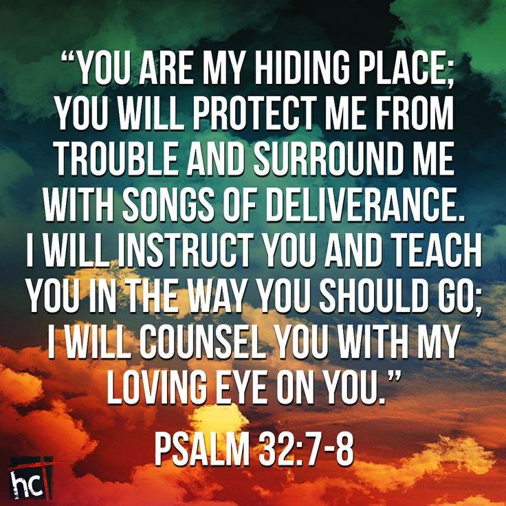 psalm 32-7-8
