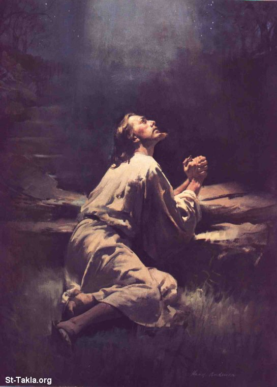 www-St-Takla-org--Jesus-Praying-in-Gethsemane-Garden-13