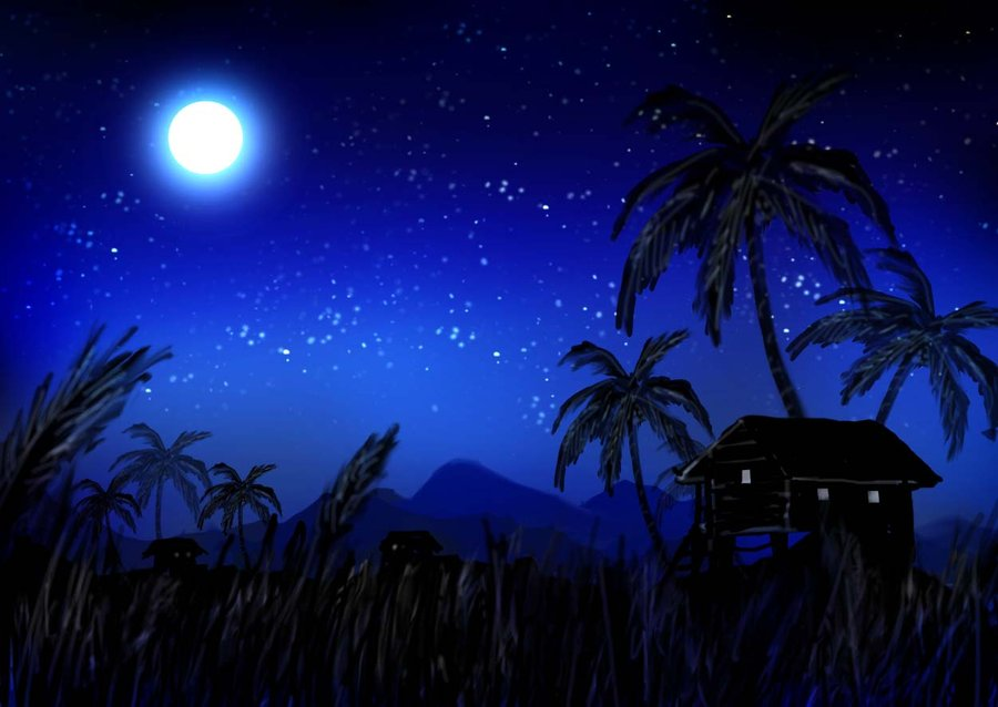 kampung_at_night_by_puffychin-d35ckmo