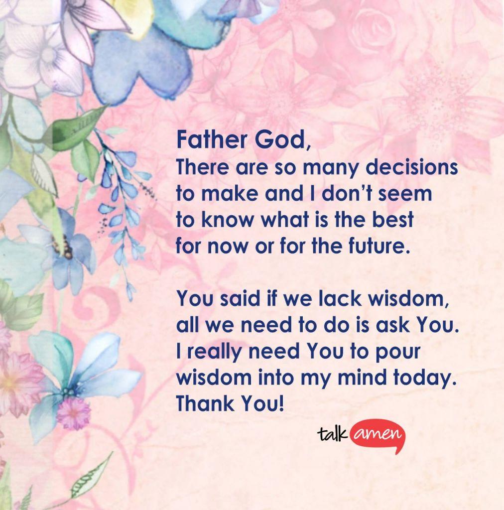 wisdom decision