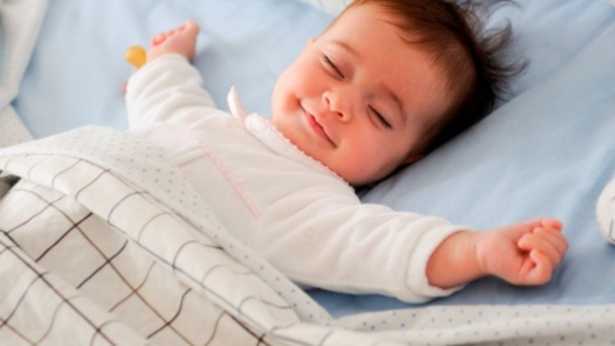 Baby-Sleeping-Smiling-Face-Images