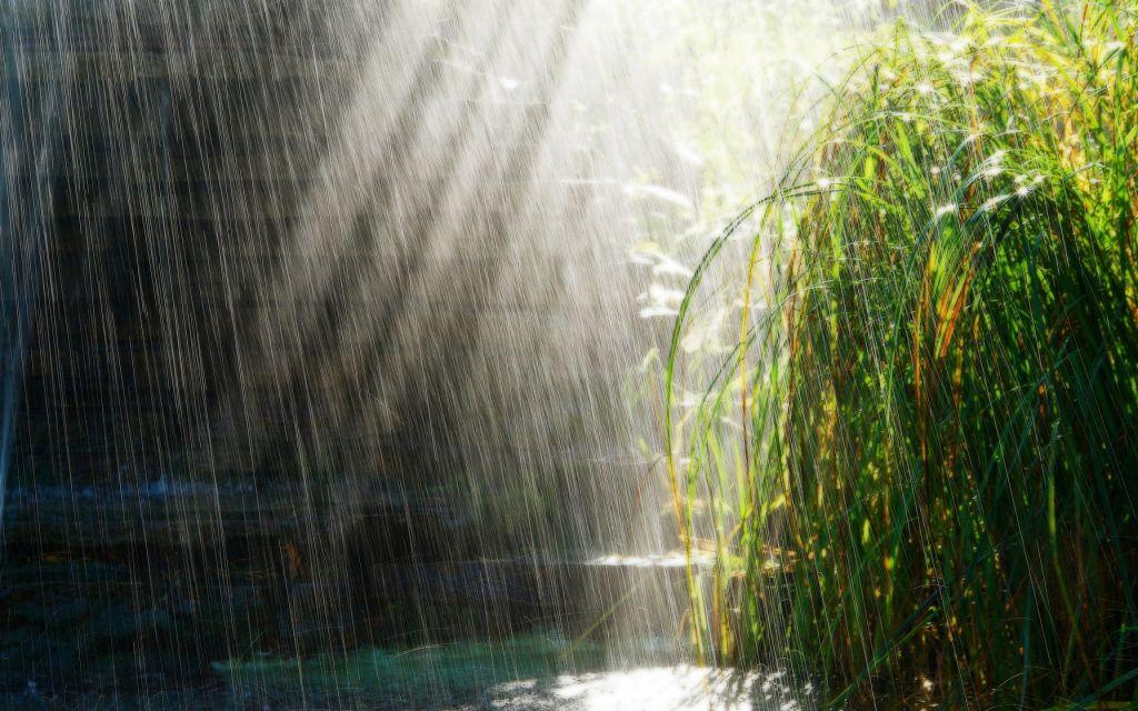 raining-lake
